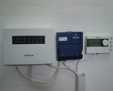 Punct termic cu cascada de 3 cazane GB162-80kW