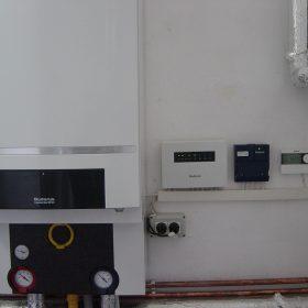Punct termic cu cascada de 2 cazane GB162-80kW