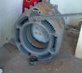 Punct termic cu cazan de fonta GE 120kW niplat